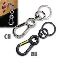 MOON Double Carabiner key Holder