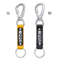MOON Lock Carabiner Leather Key Ring