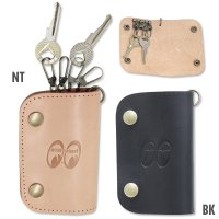MOON Equipped Leather Key Case