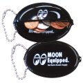MOON Equipped Oval Coin Case