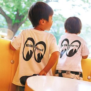 Photo1: MOON Equipped Infant T-shirt (100cm〜120cm)