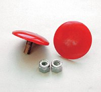 Prothane Button Style Bump Stop Ultra-Thin