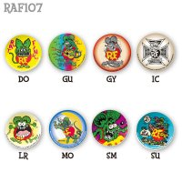 Rat Fink Can Badge   (New Design)