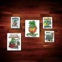 Rat Fink Art Canvas (S size)