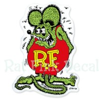 Rat Fink Decal Large
