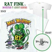 """Rat Fink Monster T-Shirt """"Mad Modeler"""""""