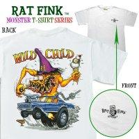 "Rat Fink Monster T-Shirt ""Wild Child"""