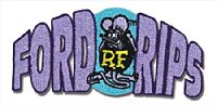 Rat Fink Ford Rips Patch