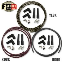 TFMW - 7mm Cloth Covered Spark Plug Wire Set
