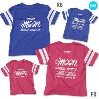 Kids MOON Wheel Discs Football T-Shirt