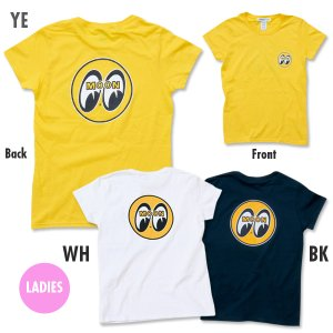 Photo1: MOON EYEBALL Ladies T-Shirt
