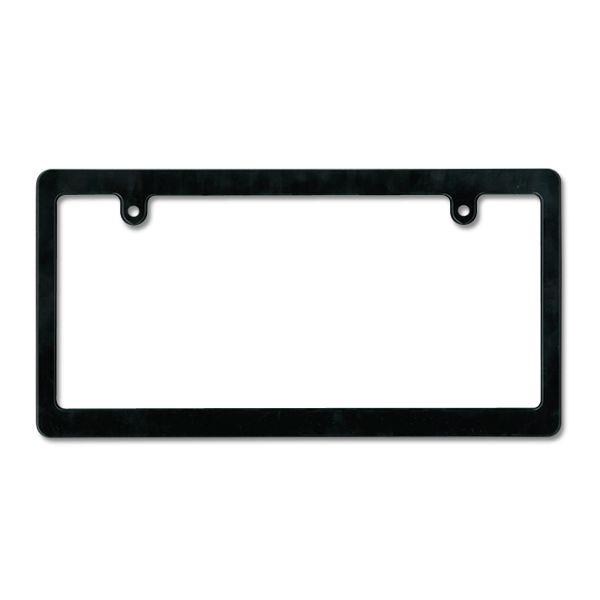 MOONEYES Black License Frame (Plain Small)