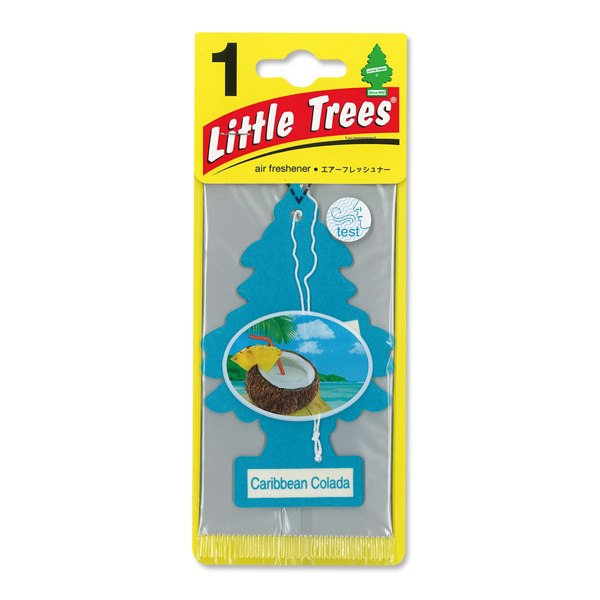 Little Tree Paper Air Freshener Caribbean Colad
