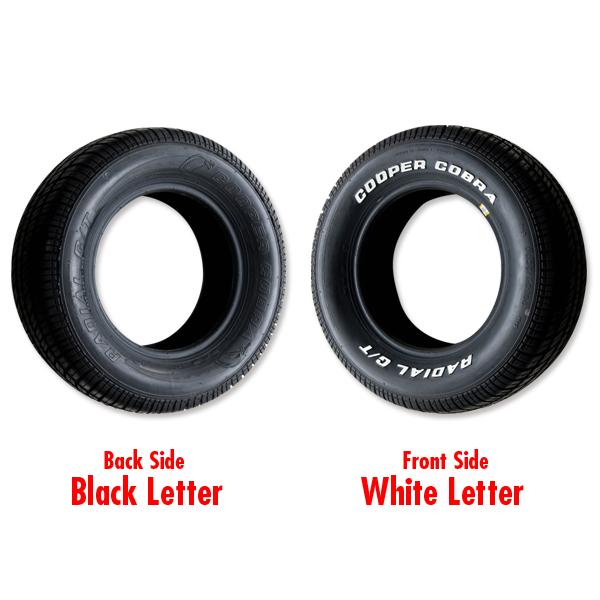 cooper radial gt raised white letter tire p255 60r 15 With cooper raised white letter tires