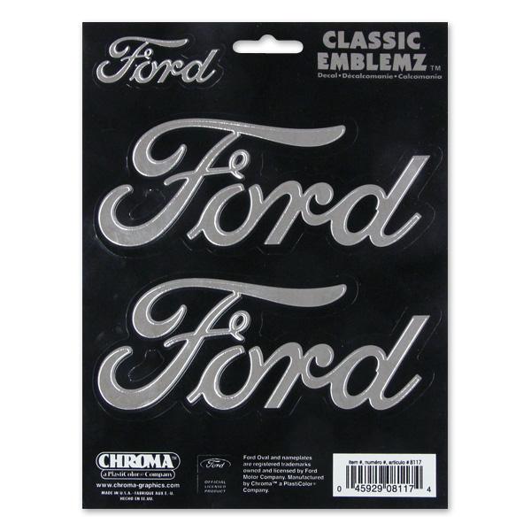 Vintage Ford Decals : Vintage ford racing decals