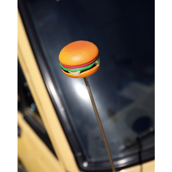 Cheese Burger Antenna Topper