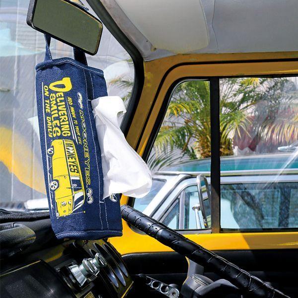 MOON Bus Denim Tissue Coverr