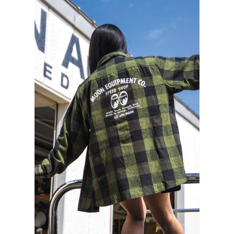 Speed Shop Long Sleeve Flannel Shirt