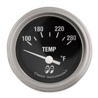 MOON Equipped 2inch Water temperature (Electric)   (Black)