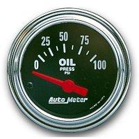 Performance Traditional  Gauge Oil Pressure  (0-80psi)