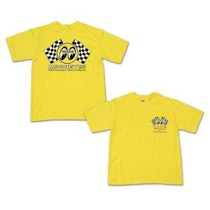 Photo1: Kids & Ladies Checker MOON TShirts