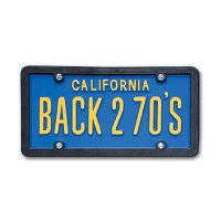USA Custom Order License Plate - California Blue