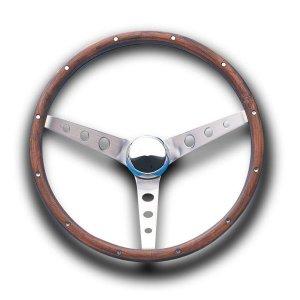 Photo1: Grant Classic Ford Model Wood Steering Wheel 37cm