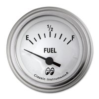 MOON Equipped 2inch Fuel Level 0-30 -67GM Type  (White)