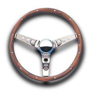 Photo1: Grant Classic Wood Model Steering Wheel 38cm