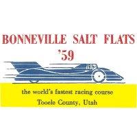 HOT ROD Sticker BONNEVILLE SALT FLATS '59 Sticker
