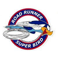 Road Runner Super Bird Sticker