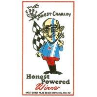 HOT ROD Sticker HONEST CHARLIE POWERED Sticker
