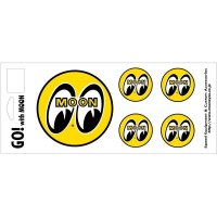 EYEBALL 5Piece Sticker Set