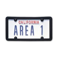 USA Custom Order License Plate - California White