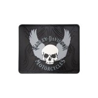 HD Skull With Wing Utility mat