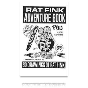 Photo1: Ed Roth Book Rat Fink Adventure