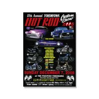 17th YOKOHAMA HOT ROD-Custom Show 2008 Poster