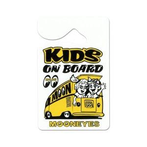 Photo1: MOONEYES Parking Permit - KIDS ON BOARD