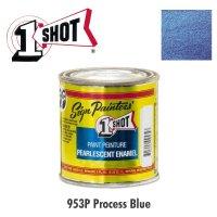 Process Blue 953P - 1 Shot Paint Pearlescent Enamels