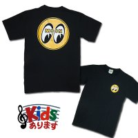 MOON EYEBALL T-Shirt Black from USA