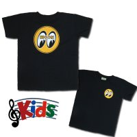 MOON EYEBALL Kids T-Shirt Black from USA