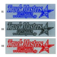 Blue Panic Truck Master Metal Sticker