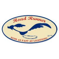 Road Runner Decal: Running Oval