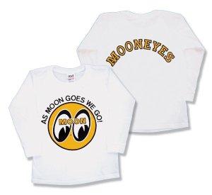 Photo3: Kids & Ladies MOON Long Sleeve T-Shirt