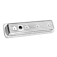 Chrome Steel Valve Covers 5.0-5.7L CHV '87-'95 Short
