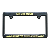 MOONEYES Black License Frame / Racing Division