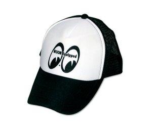 Photo1: MOON Equipped Mesh Cap