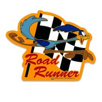 Road Runner RR Checker Sticker