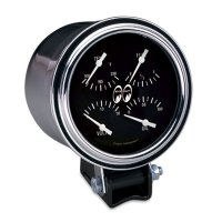 Chrome Mounting cup - For 3 3/8inch Gauge