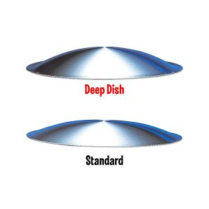 Photo1: MOON DISCS DEEP DISH 14inch